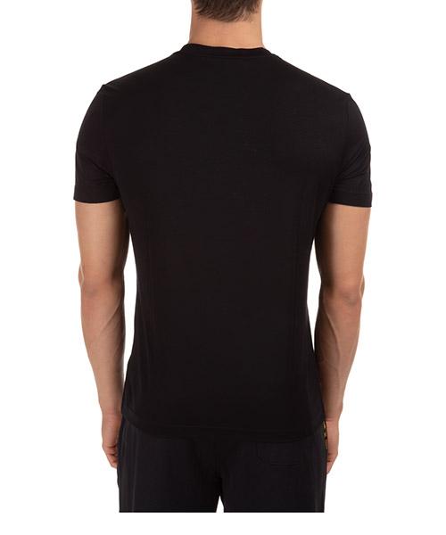 Herren t-shirt kurzarm kurzarmshirt runder kragen barocco acanthus secondary image
