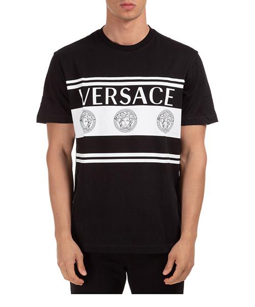 T-shirt Versace a87391a235263a1008 nero