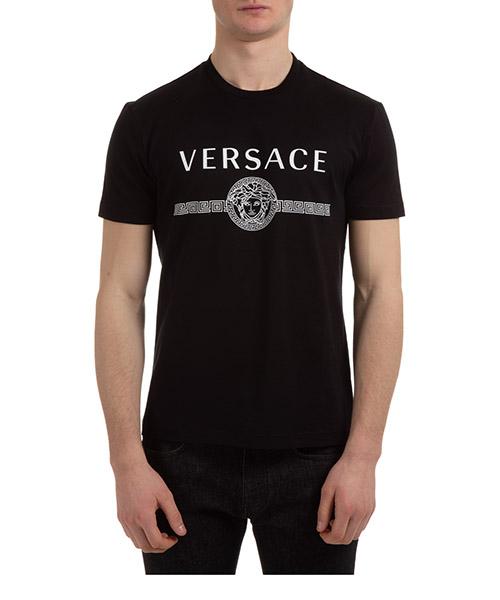 T-shirt Versace medusa a87573a228806a1008 nero