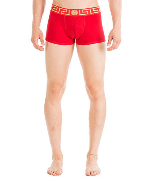 Boxers Versace AU10026-AC00059_A9X2 rosso