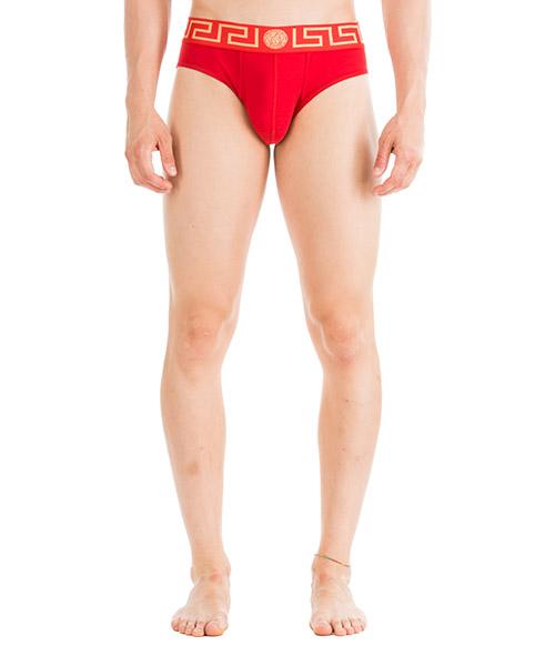 Slip Versace Medusa AU10027-AC00059_A9X2 rosso