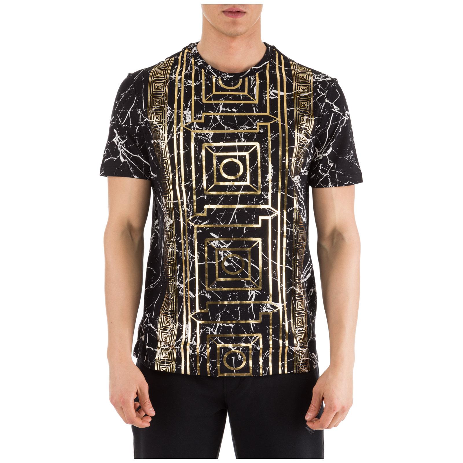 f8d36f09 T-shirt Versace Collection V800683R VJ00599 V7008 nero   FRMODA.com