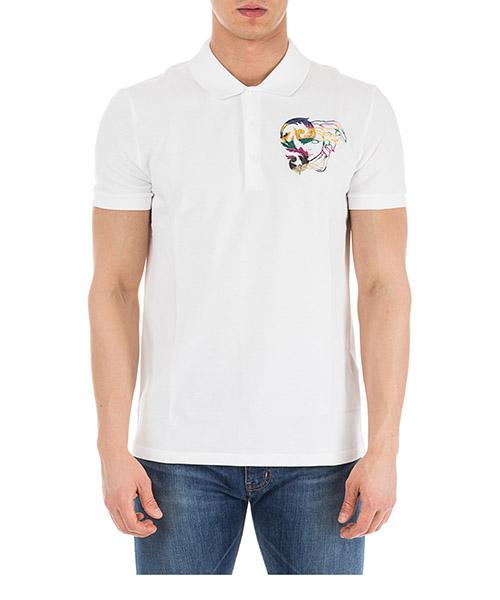 Men's short sleeve t-shirt polo collar medusa