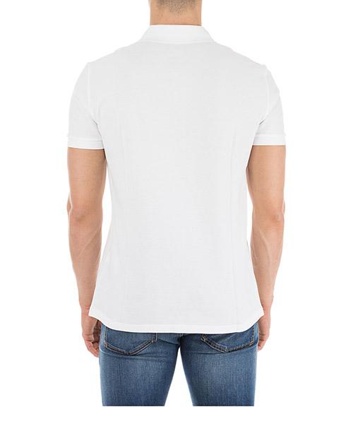 Men's short sleeve t-shirt polo collar medusa secondary image