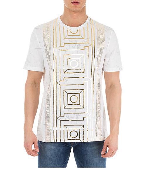 T-shirt Versace Collection V800683R VJ00599 V7001 bianco