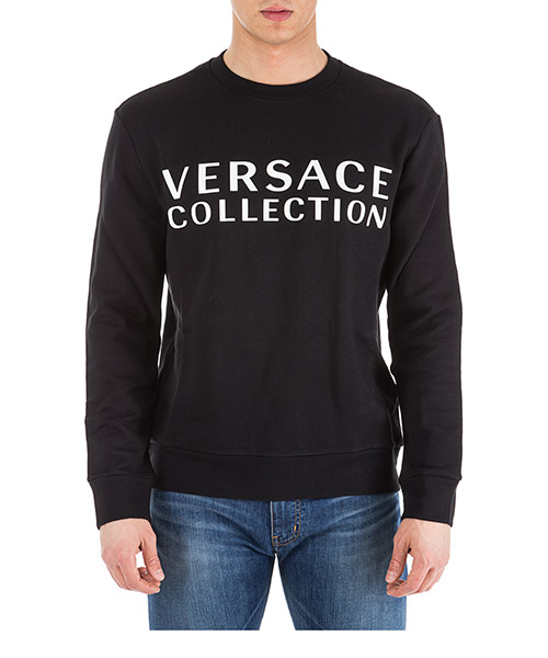 Sudadera Versace Collection V800821N VJ00578 V7008 nero