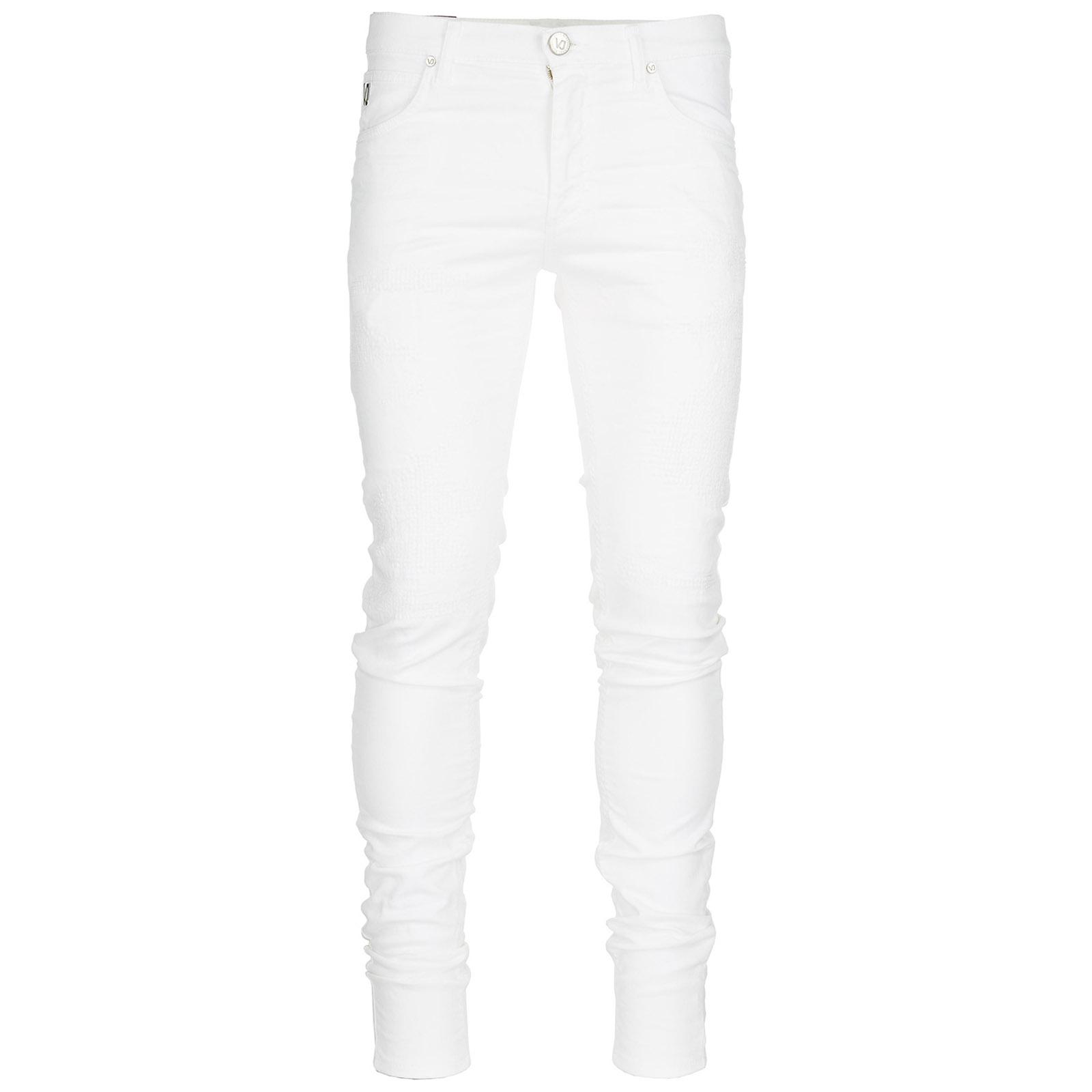 Jeans uomo skinny twill