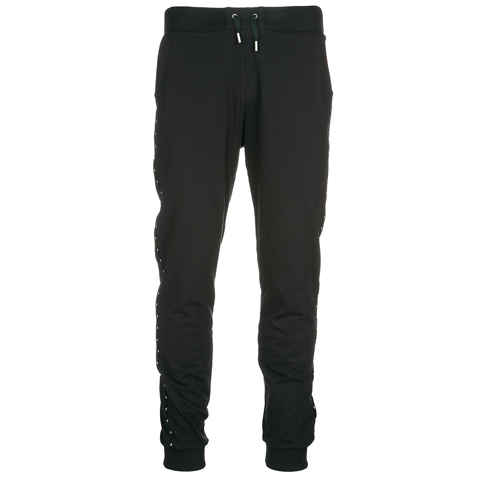 Pantaloni tuta uomo fleece light stretch