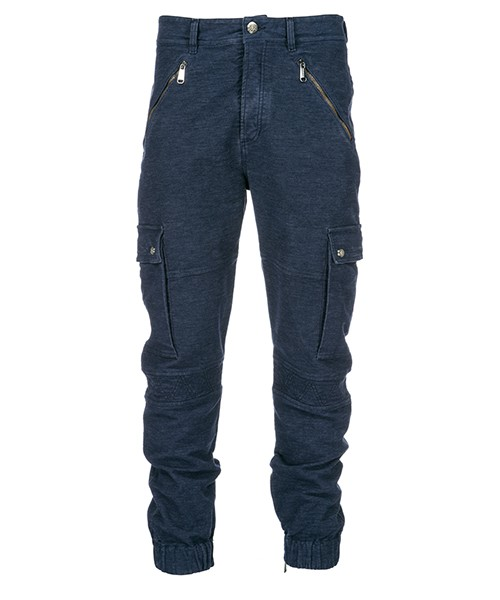 Trousers Versace Jeans A2GSB105 blu