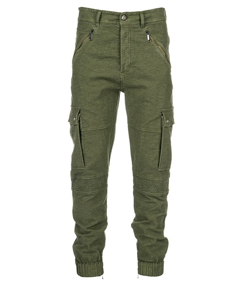 Trousers Versace Jeans A2GSB105 verde