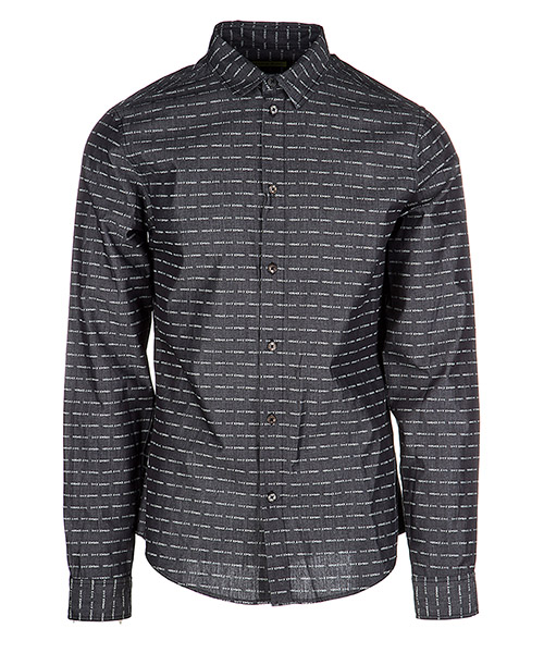 Men's long sleeve shirt dress shirt easy slim