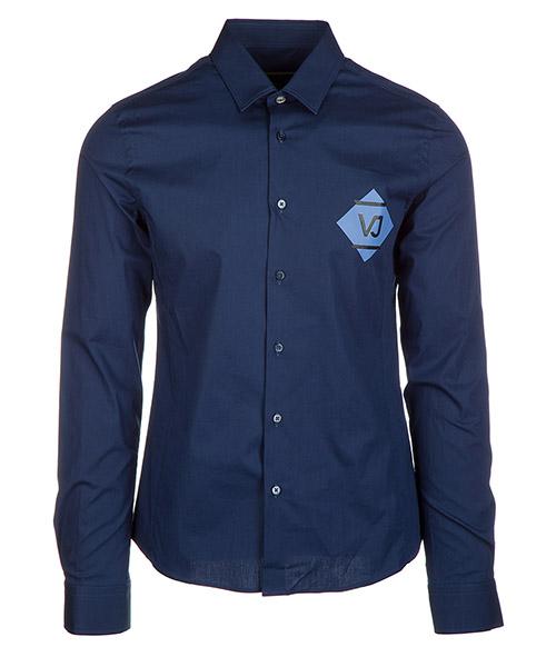 Camicia Versace Jeans B1GQA6E0 blu