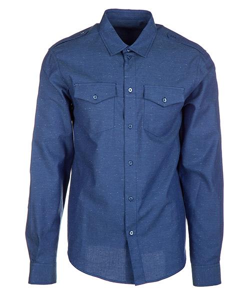 Camicia Versace Jeans B1GQB613 QUM213 blu