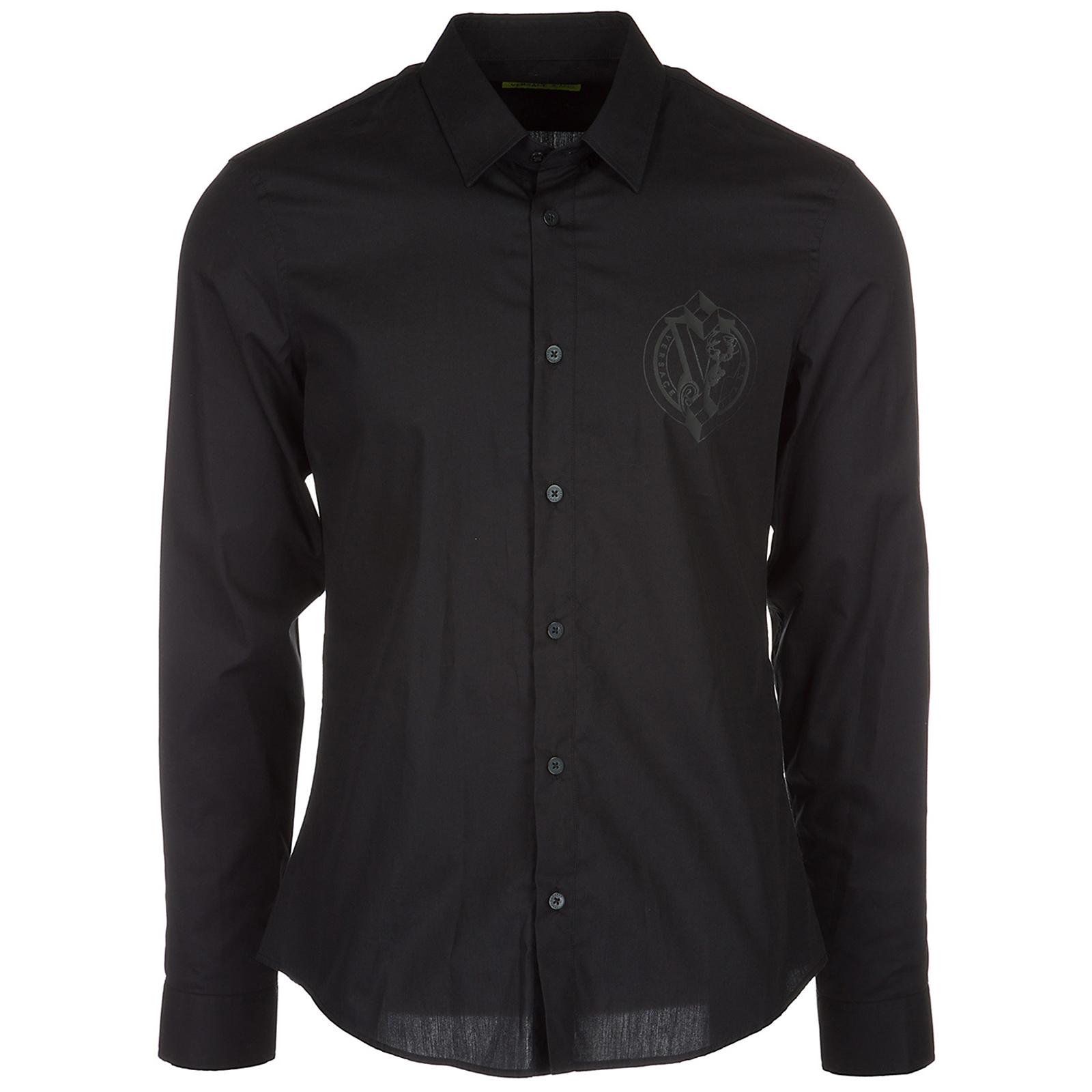 33532975d78d Versace Jeans Men s long sleeve shirt dress shirt