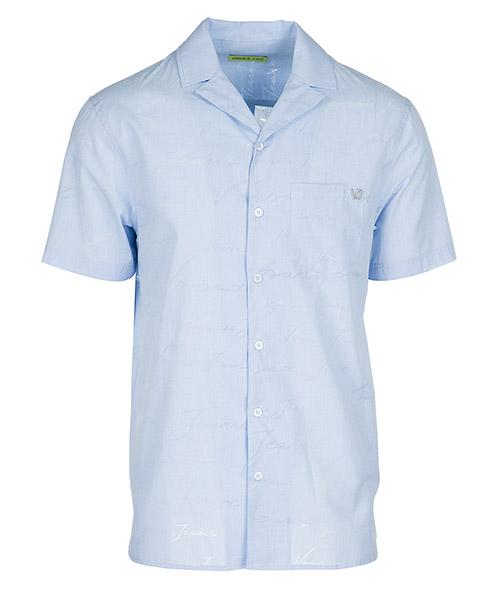Camisa de mangas cortas  Versace Jeans B1GRB614 blu