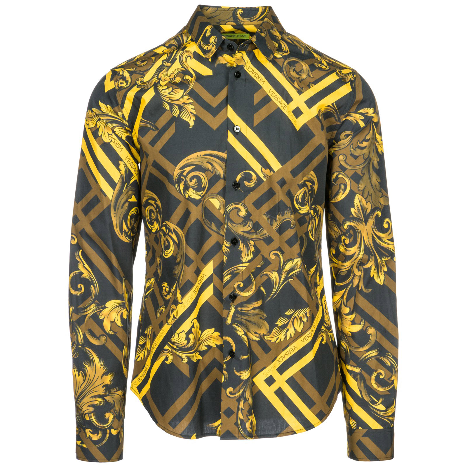 Chemise Versace Jeans B1GSB6S0 nero   FRMODA.com c8e2709c541