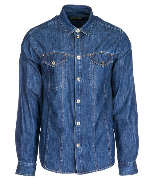 Camicia Versace Jeans B1GSA601 SUP201 blu