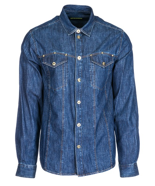 Camisa Versace Jeans B1GSA601 SUP201 blu