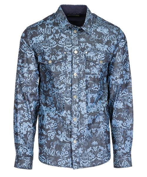 Hemd Versace Jeans B1GSA605 blu