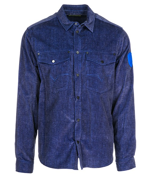 Camicia Versace Jeans B1GSA606 blu