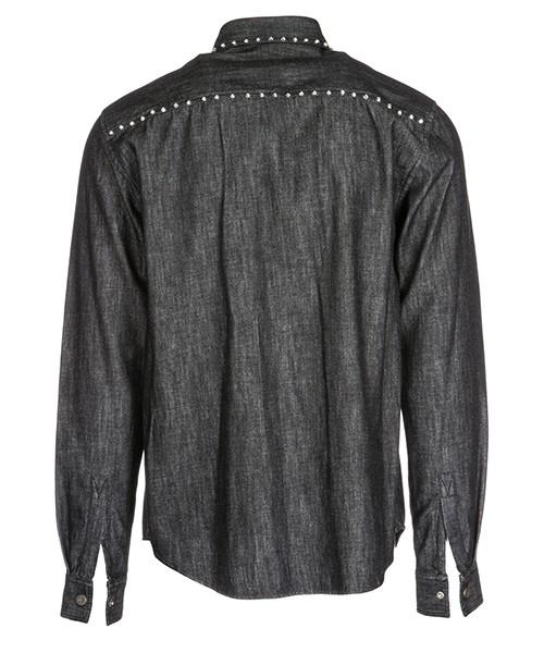 Camisa de mangas largas hombre in denim jeans secondary image