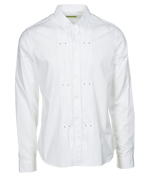 Camicia Versace Jeans B1GSA613 SUP213 bianco