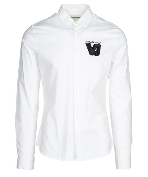 Chemise Versace Jeans B1GSA6E0 24363 003 bianco