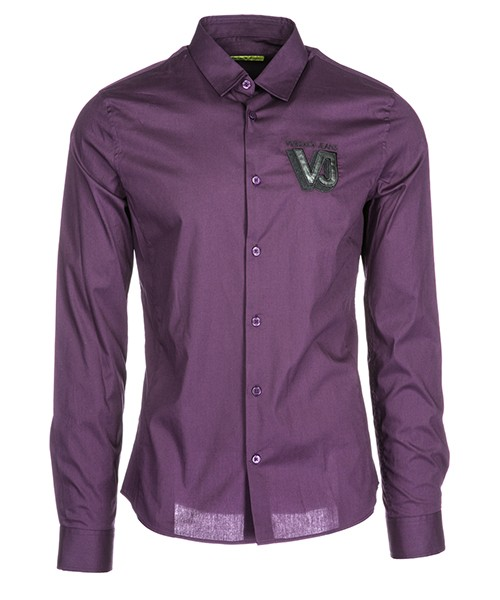 Camicia Versace Jeans B1GSA6E0 24363 viola