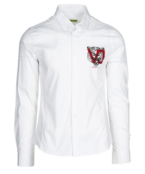 Camisa Versace Jeans B1GSA6E0 24454 003 bianco