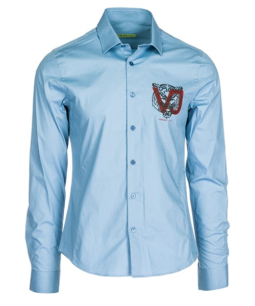 Camisa Versace Jeans B1GSA6E0 24454 blu