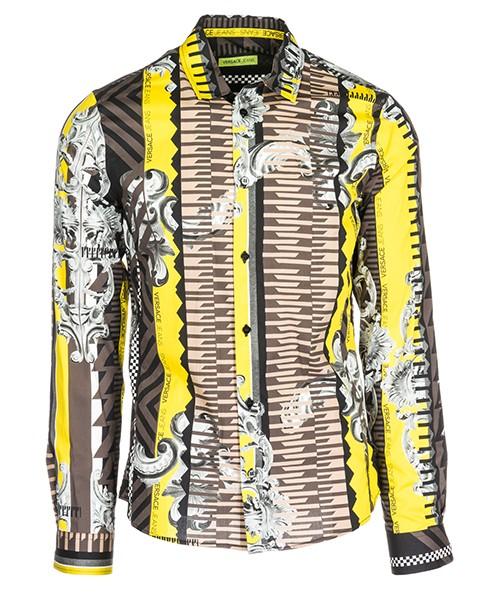 Camicia Versace Jeans B1GSA6E0 giallo