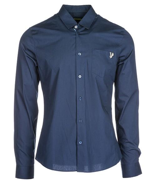 Camicia Versace Jeans B1GSA6E4 24363 blu
