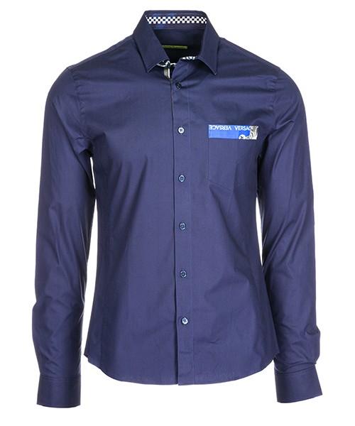 Camicia Versace Jeans B1GSA6E4 blu