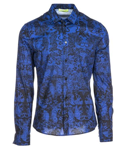 Camicia Versace Jeans B1GSA6E5 blu