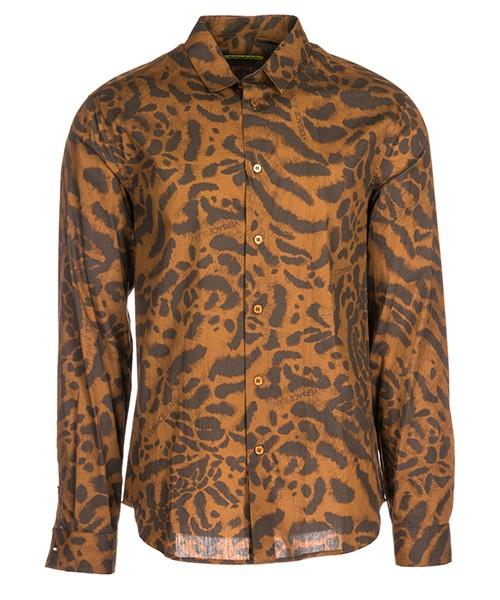 Camisa Versace Jeans B1GSA6R0 marrone