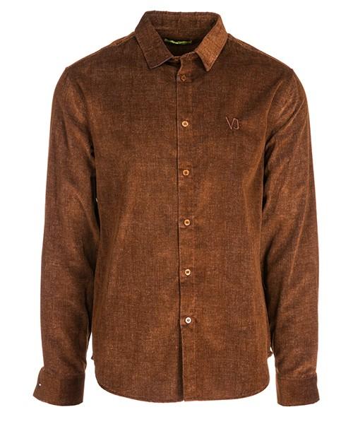 Camisa Versace Jeans B1GSA6R2 marrone