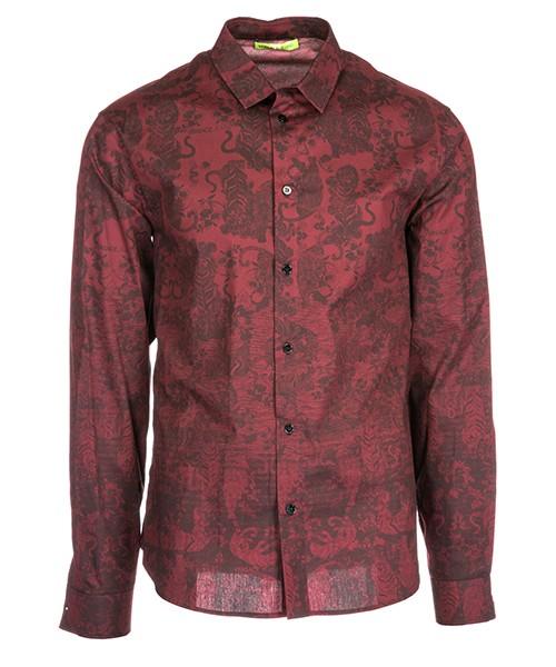 Camicia Versace Jeans B1GSA6R5 bordeaux