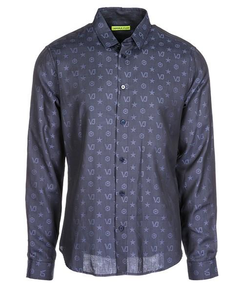 Camicia Versace Jeans B1GSA6S0 08787 blu
