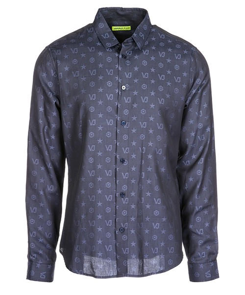 Chemise Versace Jeans B1GSA6S0 08787 blu