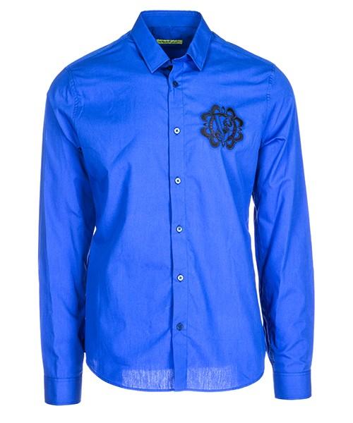 Camicia Versace Jeans B1GSA6S0 24350 253 blu