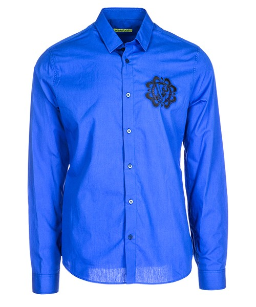 Camisa Versace Jeans B1GSA6S0 24350 253 blu