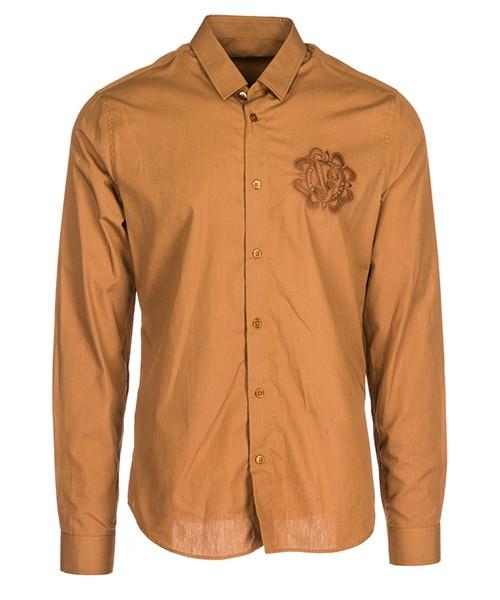 Camisa Versace Jeans B1GSA6S0 24350 marrone