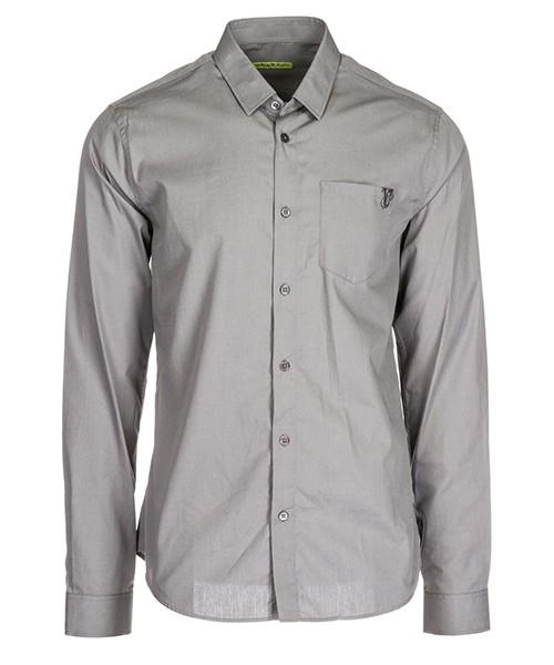 Camicia Versace Jeans B1GSA6S1 24350 grigio