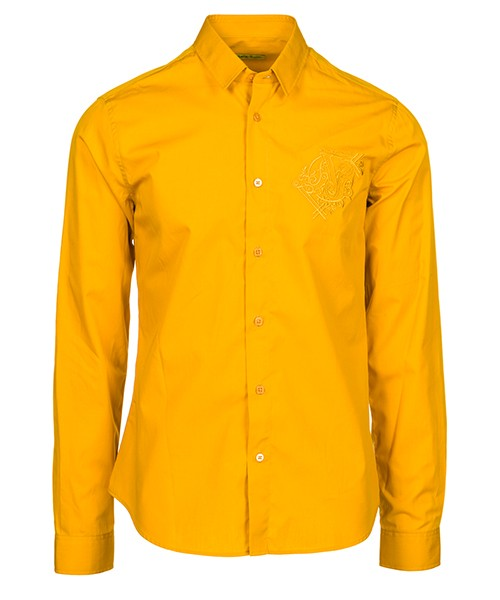 Hemd Versace Jeans B1GSB6S0 24350 giallo