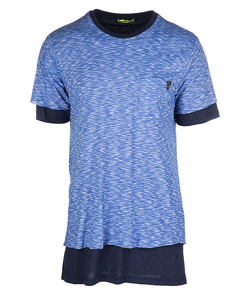 футболка с короткими рукавами круглый вырез горловины мужская jersey regular flame funaki