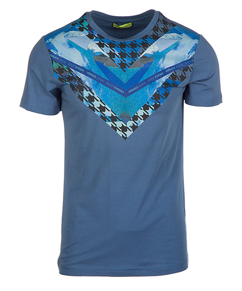 T-shirt Versace Jeans B3GQA750 blu