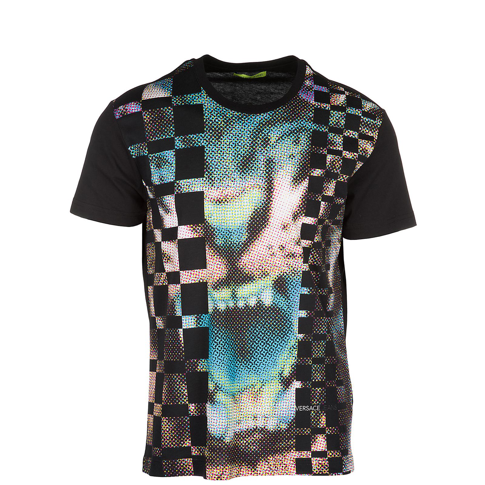 T-shirt Versace Jeans B3GRB72B nero   FRMODA.com d49463ff130