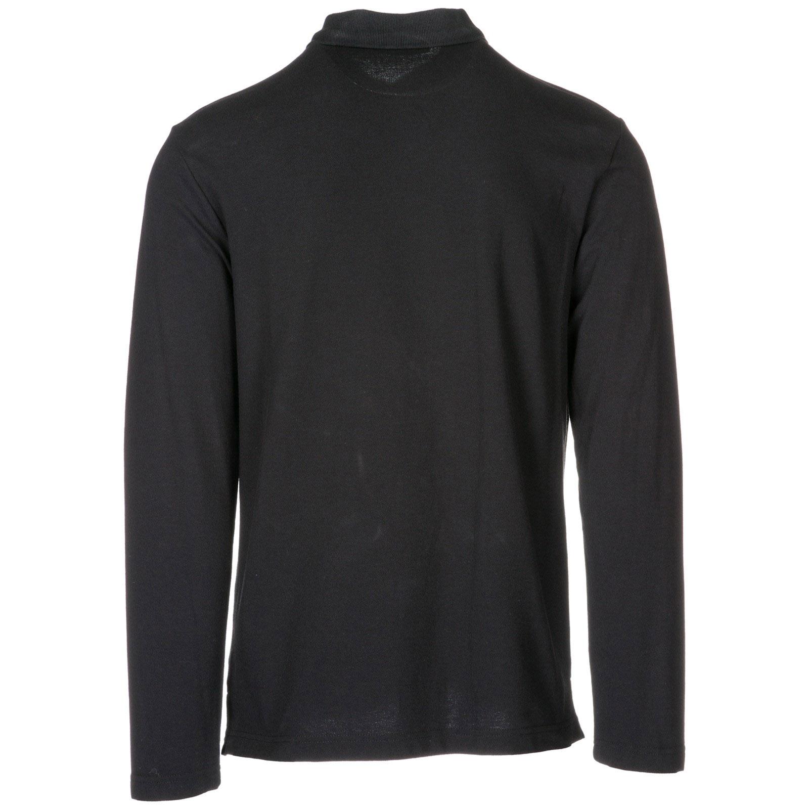 Polo manica lunga Versace Jeans B3GSA7P4 nero   FRMODA.com e55ba6d9730