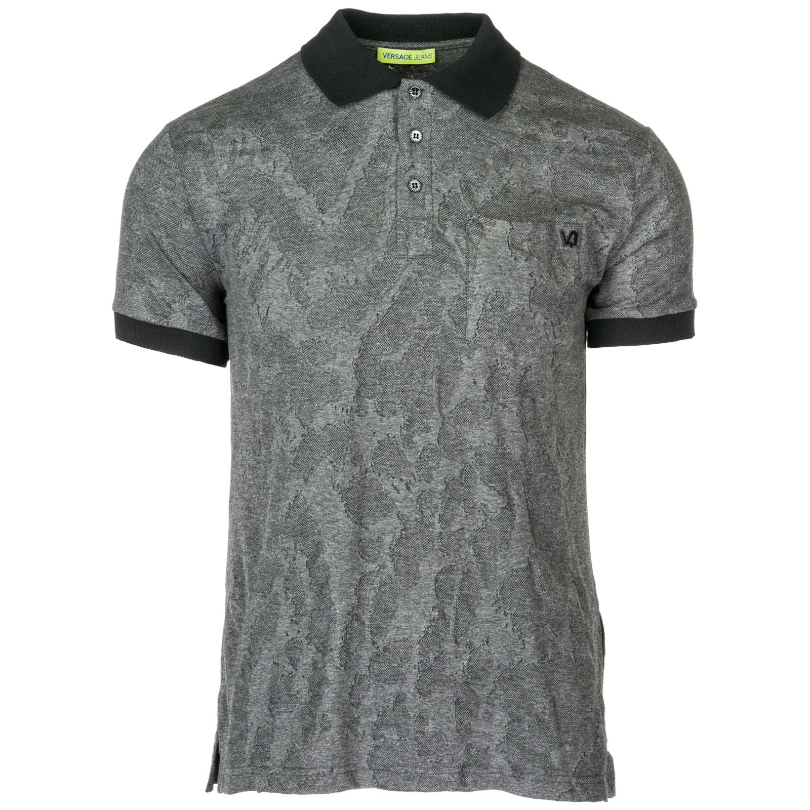Camiseta de manga corta cuello de polo hombre ... 5bab1202080