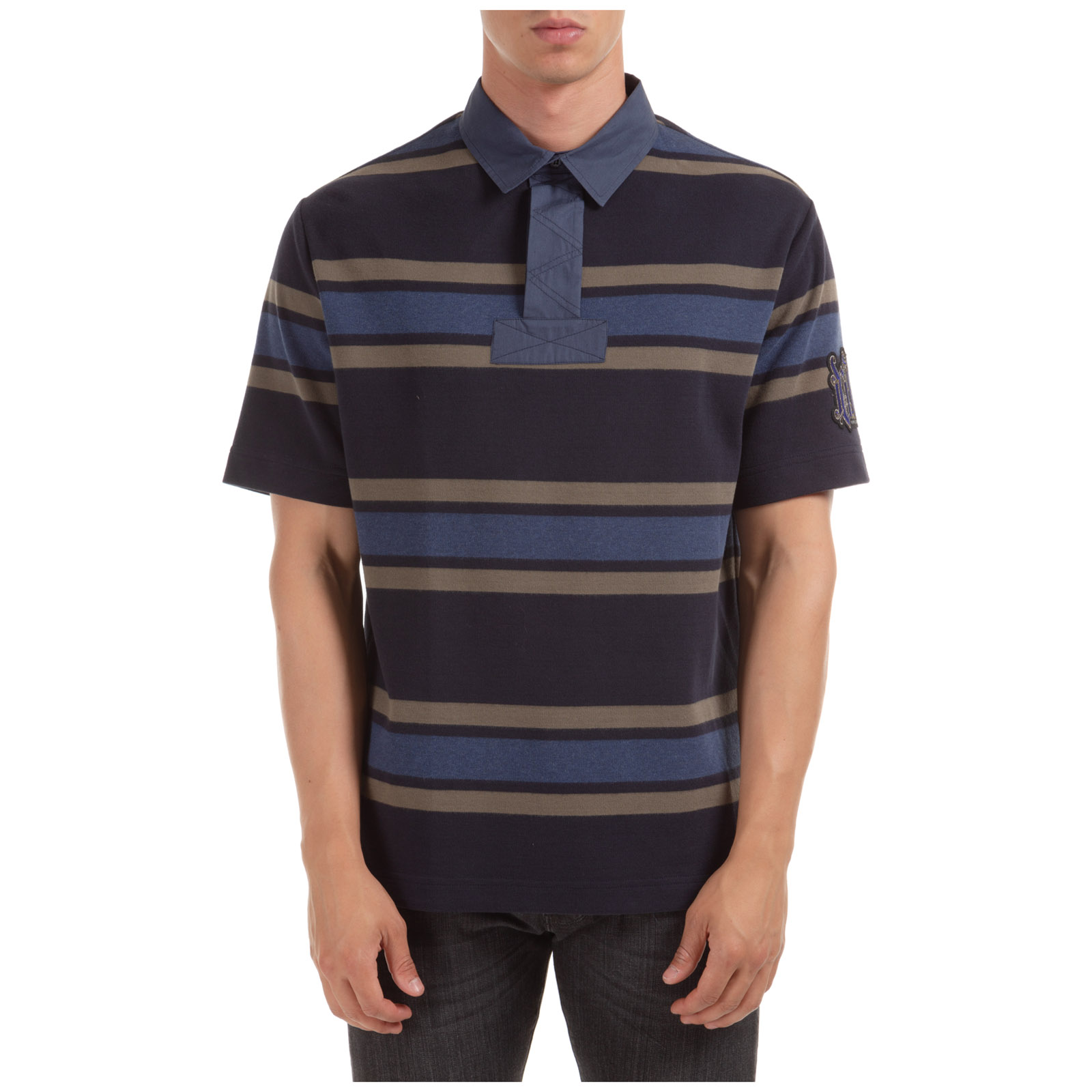T Courtes Homme Col Manches Polo Shirt 6f7ygb